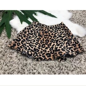 Gymboree Baby Girl Mini Skirt Animal Print Sz: 4